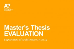 master's thesis evaluation