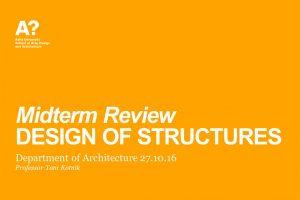 design of structures